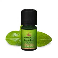 BASIL (LEMON BASIL) ESSENTIAL OIL, ORG