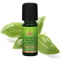 Basil Sweet (Linalool) Essential Oil, Org