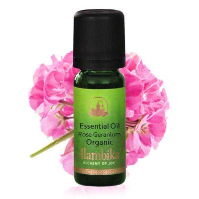 Geranium (Rose Geranium) Essential Oil, Org