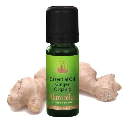 Ginger Essential Oil, Org
