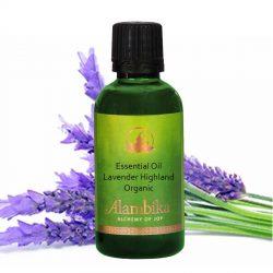 Lavender Highland, Wild Essential Oil 30ml, Org